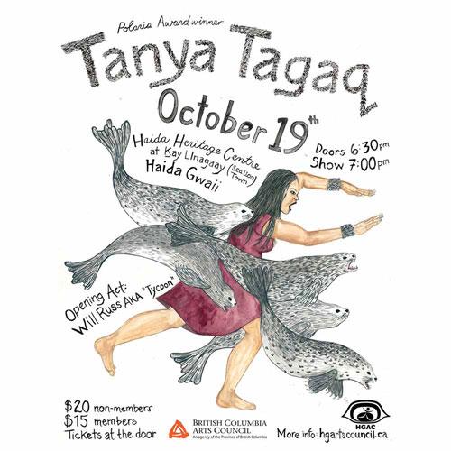 Tanya Tagaq Poster