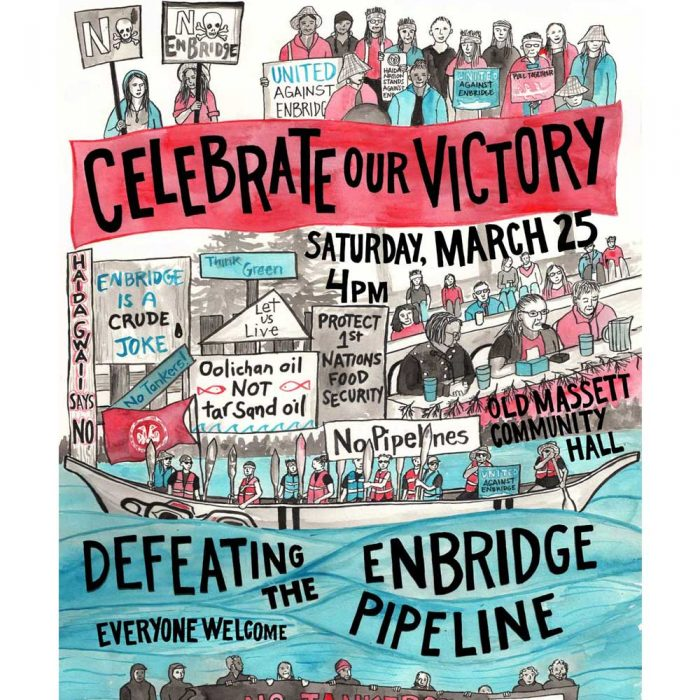 Poster for Enbridge Victory Celebration